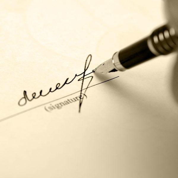 firma registrada